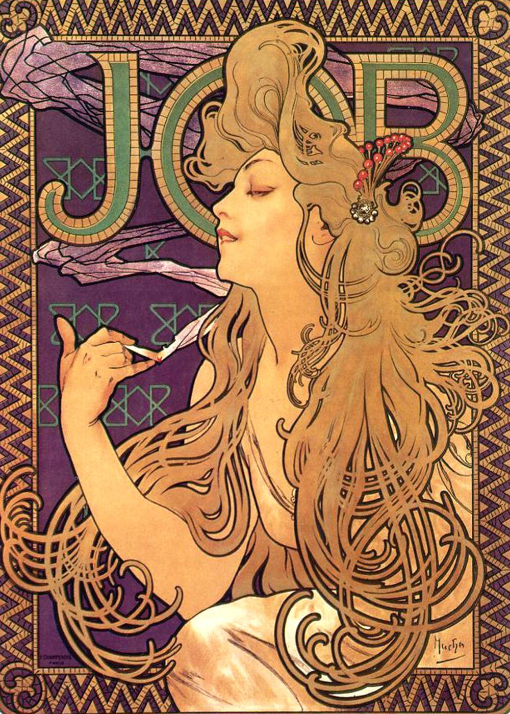 Alphonse Mucha - Job 1896
