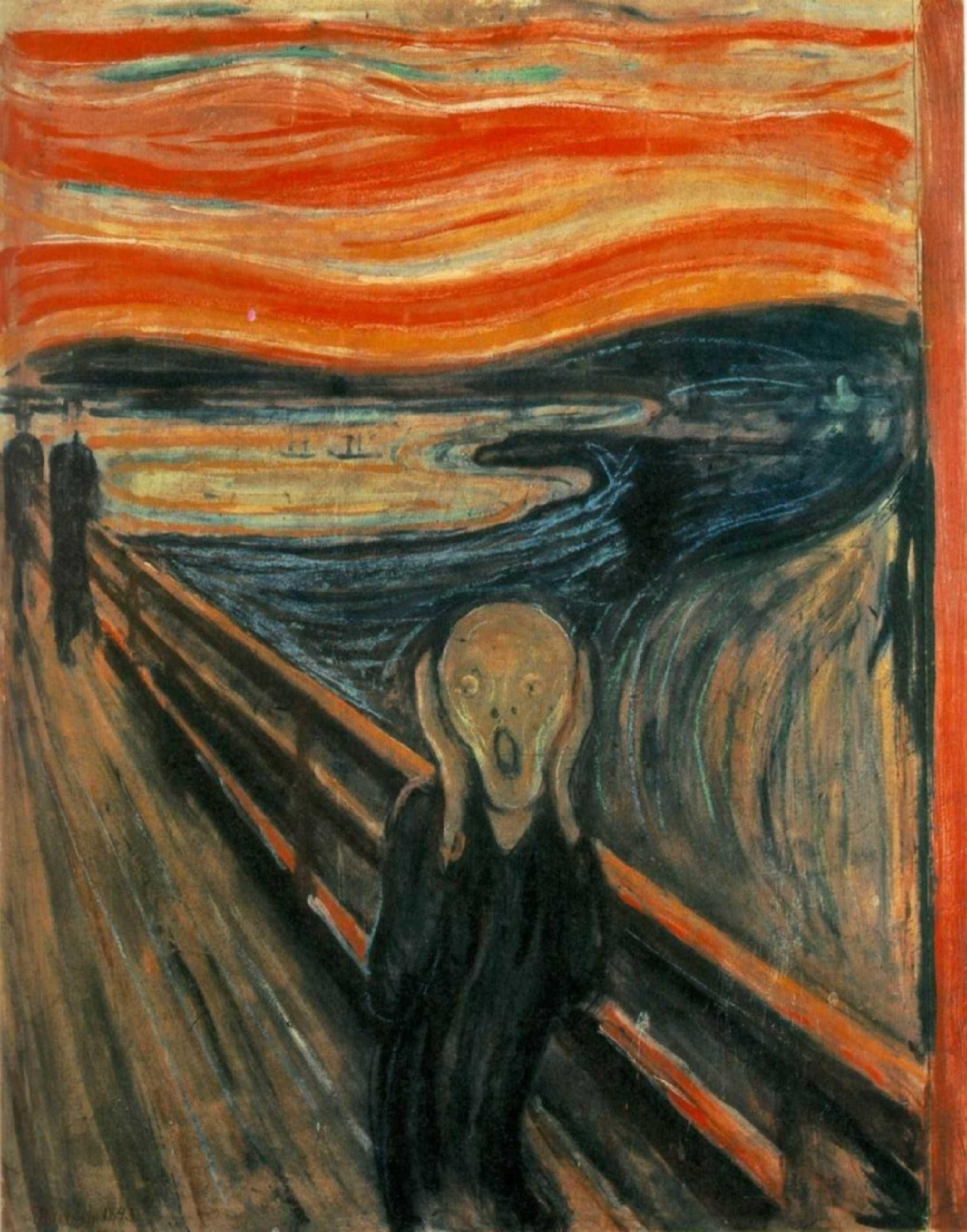 Edvard Munch, De Schreeuw, 1893