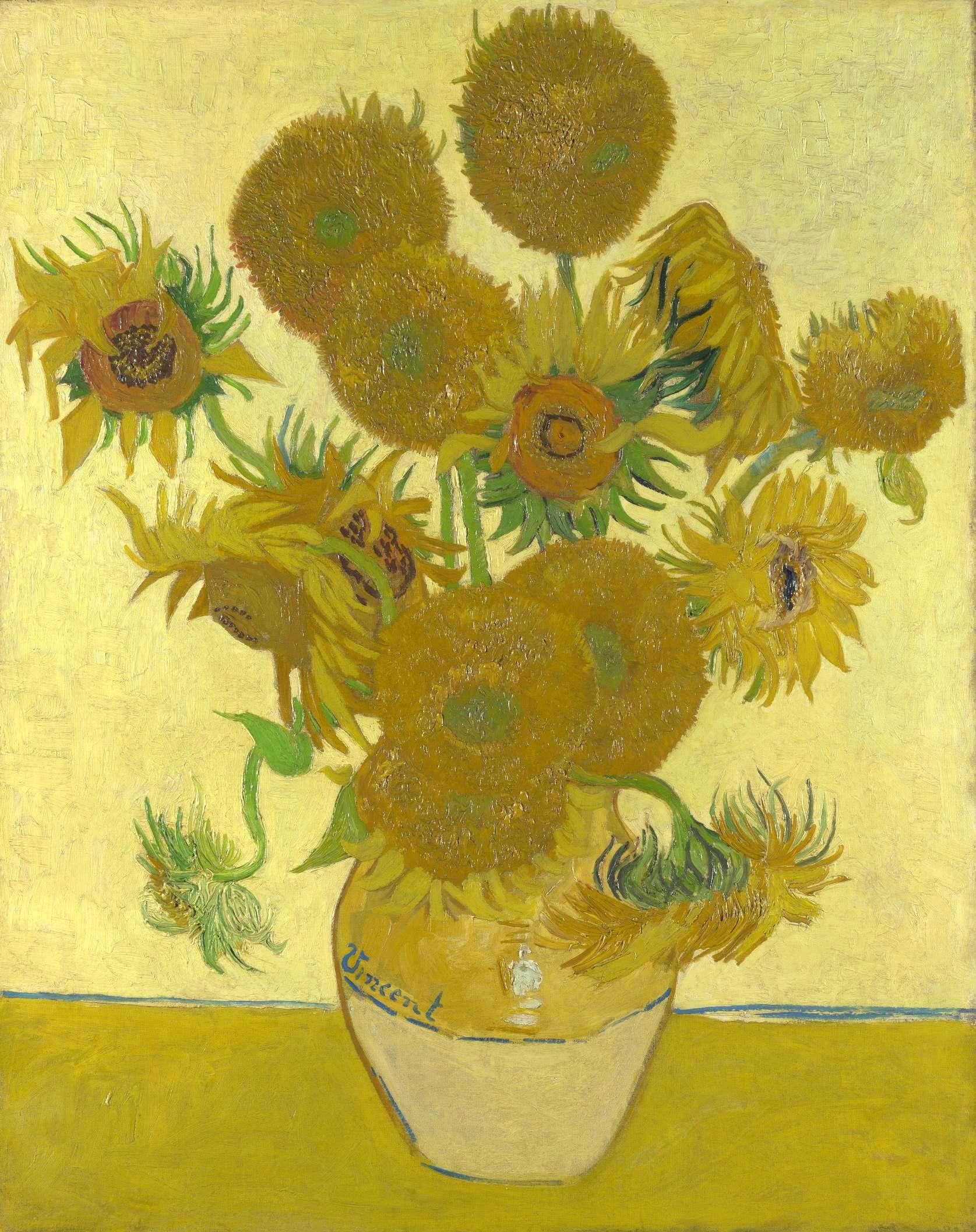 Vincent Van Gogh - Zonnebloemen - 1888