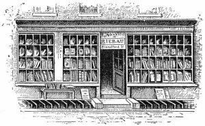 De winkel van Riebau waar Faraday leerjongen werd.