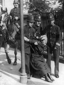 sufragette politie