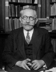 Paul Langevin, Frans natuurkundige, 1872-1946, voorzitter van de Solvayraden van 1930 en 1933